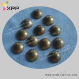 Fashion Round Hotfix Stud Anti Brass Color