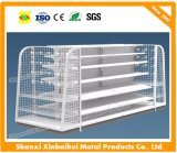 Wire Mesh Supermarket Shelves Used in Retail Shop