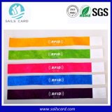 Eco-Friendly Tyvek Wristbands for Events Access Control
