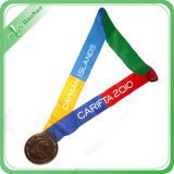 Quality First Custom Colorful Medal Ribbon for Sport