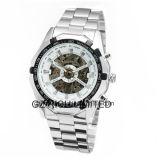 Winner Brand Mens Stainless Steel Automatic Mechanical Men Wrist Watch