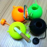 New Design Round Teapot Shape Portable Silicone Ashtray