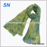 Hot New Products for 2015 Printed Lady Voile Scarf Alibaba China
