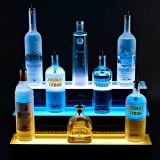 First-Class LED Illuminated Acrylic Wine and Champagne Display