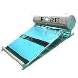 Low Pressure Solar Water Heater for Residence