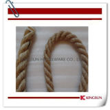 Bp240f Braided Hemp Rope with Snap Ends