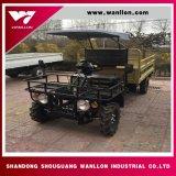 Towing Capacity 800 Kg Diesel Engine Farm Truck Type UTV