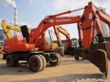 High Quality of Used Daewoo 130W-5 Wheel Excavator