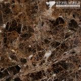 Polished Dark Emprador Marble Slabs for Flooring & Wall (MT066)