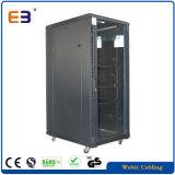 Vertical Standing Network Cabinet with Glass Door