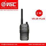 Handheld UHF Mini Size FM Transceiver Vr-2r Walkie-Talkie