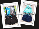 Kids Dress Short Sleeve and Shorts Suit for Girl/Child