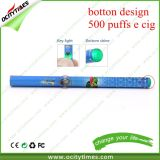China Supplier Button Design 500 Puffs Disposable E Cigarette with Many Flavors