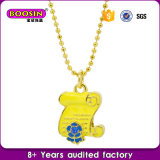 Special Gift Alloy Enamel Diploma Necklace Wholesale