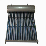 Pressurized Vacuum Tube Solar Water Heater with Copper Heat Pipe