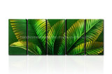 Spring Color Metal Wall Art for Leaves
