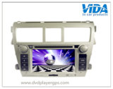 Car Video DVD Player for Toyota Vios with GPS Navigation