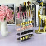 Clear Acrylic Store Nail Polish Stand Target Nail Color Display Organizer