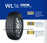 off-Road (4X4) Tire Lt245/75r16, Steel Radial PCR Tire, Label Tire