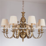 Iron Pendant Lamp Chandelier with Fabric Shade (SL2091-8)