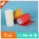 Non Woven Cohesive Bandages Wrap Finger Bandage with Factory Ce, ISO, FDA Approved