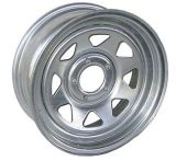 15X8 Spoke Galvanized Trailer Wheel 5-165.1