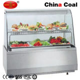 Commercial Food Warmer Glass Display Showcase Restaurant Food Warmer
