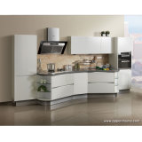 Oppein Custom White Acrylic Finish Kitchen Cabinet (OP12-X164)