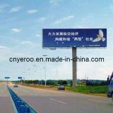 Unipole Billboard Highway Double-Side Column Advertising Board