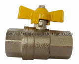Brass Gas Ball Valve with Female Ends (BW-B137)