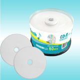 White Printable Disc Blank CD-R - 700MB 80mins 52X on Sales!