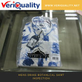 Mens Drake Botanlcal Shirt Inspection Service