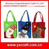 Christmas Decoration (ZY15Y010-1-2-3) Christmas Non Woven Bag Gift Bag