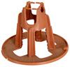 Round Concrete Plastic PP Rebar Chair Spacers
