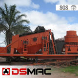Mobile  Crushing and screeening plant
