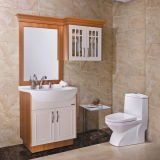 Oppein Euro Style Matte Lacquer Bathroom Cabinet (OP13-048-80)