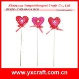 Valentine Decoration (ZY13L893-4-5-6) Valentine Stick Valentine Day Items