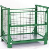 Warehouse Storage Steel Cage/Stackable Steel Container
