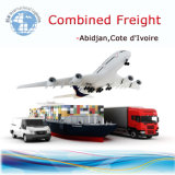 Container Shipment, Combined Sea Air to Abidjin Cote d′Ivoire Logistics