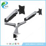 (JN-GA24FU) Double-Screen Gas Lifting Monitor Stand for 15 to 27′′