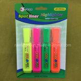 4 Colors Highlighter Marker Pen Pens, Fluorescent Pen