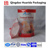 Factory Price Food Packing Plastic Frozen Food Packaging Bag with Clear Window