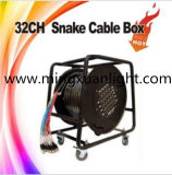 Black Audio Snake Cable Management Box (YS-1104C)