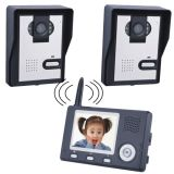 3.5inch Color Wireless Screen Solar Powered Video Door Entry System Video Door Phone (KL-350P)