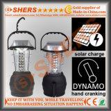 36 LED Solar Camping Light with Dynamo Cranking (SH-1990B)