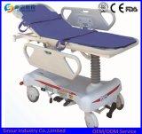 Hospital Emergency Electric Hydraulic Adjustable Transport Stretcher