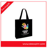 High Quality Canvas Handmade Cotton Shopping Bags Full Color Printing