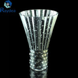 High Quality Galvanized Glass Vase for Decoration