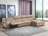 High Quality Recliner Sofa, L Shape Function Leather Sofa (G963)
