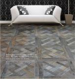 Versaille Oak Wood Parquet Floor / Mosaic Hardwood Flooring